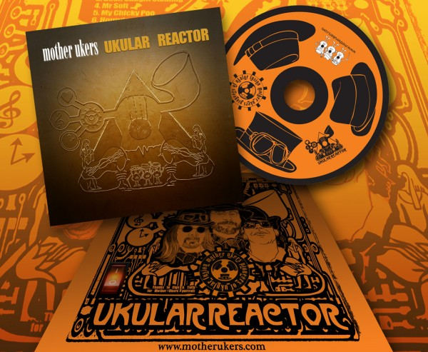 Mother Ukers Ukulele Band Ukular Reactor CD