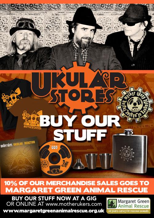 Mother Ukers Ukulele Band Stores
