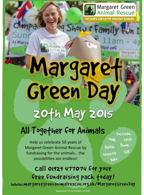 Join us in celebrating 50 years of Margaret Green Animal Rescue!