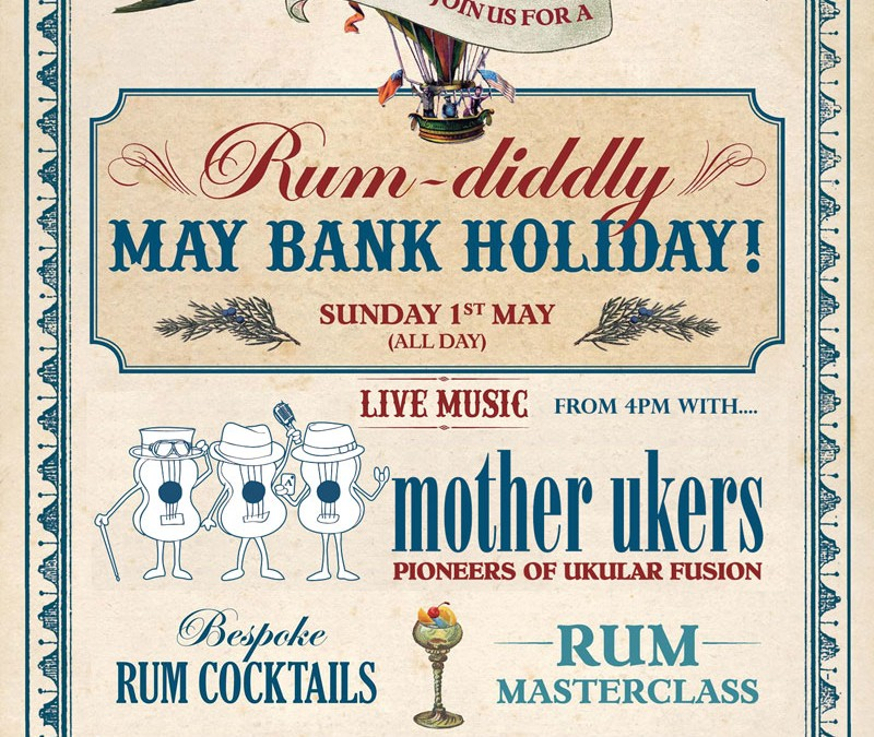 Cosy Club Bournemouth Rum Diddly May Day Ukular Fusion!