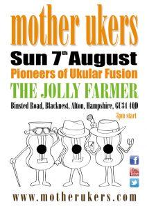 Ukulele Band at Jolly Famer in farnham