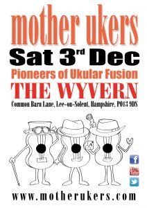 Ukulele band at the Wyvern lee on solent